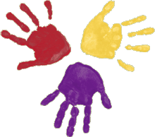 handprints recolored